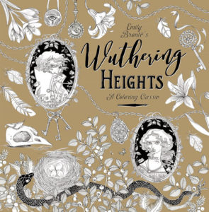 25 Last Minute Gifts for Book Lovers Wuthering Heights Colouring Book