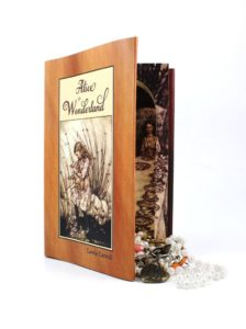 25 Last Minute Gifts for Book Lovers Alice in Wonderland Book Safe