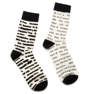 25 Last Minute Gifts for Book Lovers Banned Books Socks