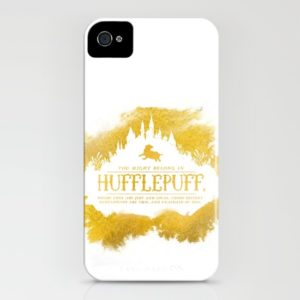 25 Last Minute Gifts for Book Lovers Hufflepuff iPhone Case