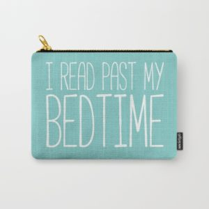 25 Last Minute Gifts for Book Lovers I Read Past My Bedtime Pouch